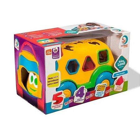 Brinquedo infantil Carrinho Dino Interativo Bebês