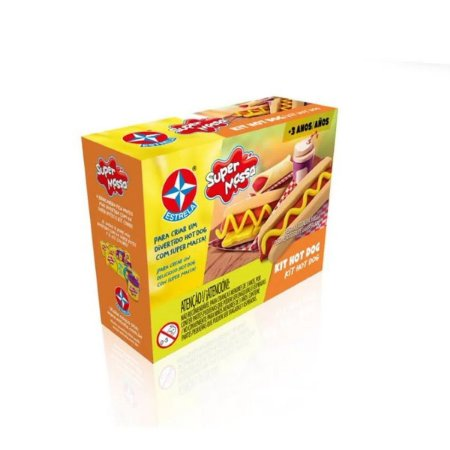 Kit Hot Dog Super Massa - Estrela