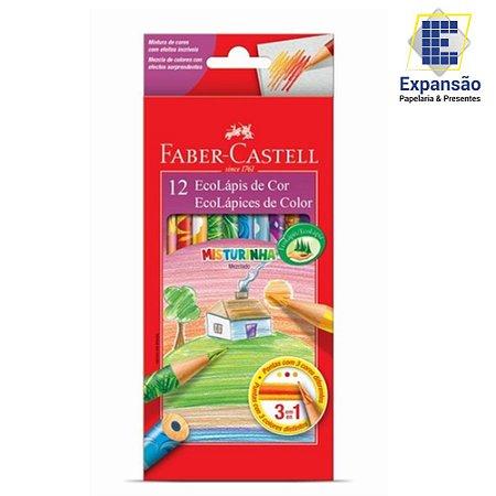 LÁPIS DE COR MISTURINHA - 12 CORES – FABER-CASTELL