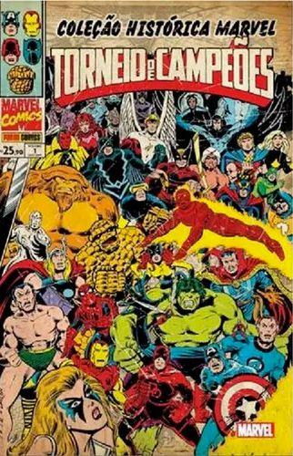 Coleção Histórica Marvel - Torneio De Campeões #1