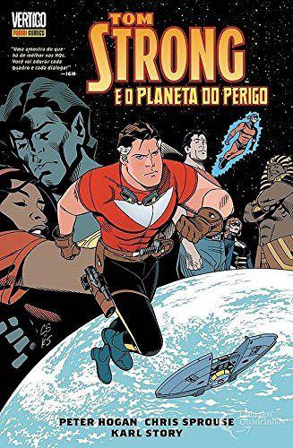 Tom Strong e o Planeta do Perigo