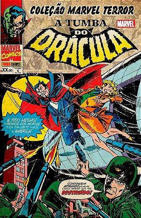 Coleção Marvel Terror: A Tumba do Drácula #6