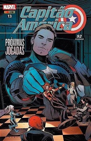 Capitão América #13 Próximas jogadas