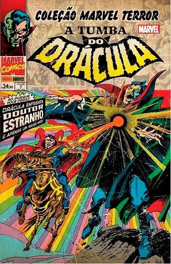 Coleção Marvel Terror: A Tumba do Drácula #7