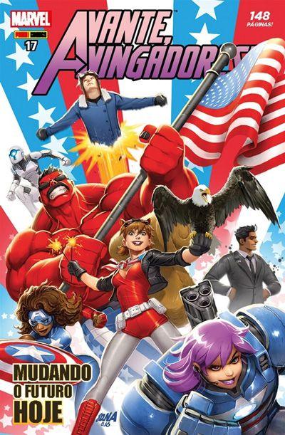 Avante, Vingadores! #17