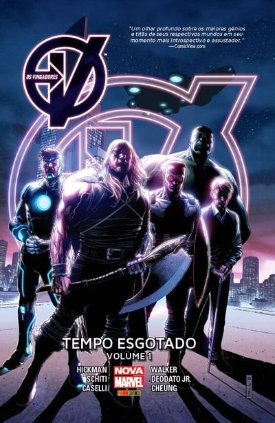 Os Vingadores: Tempo Esgotado #1