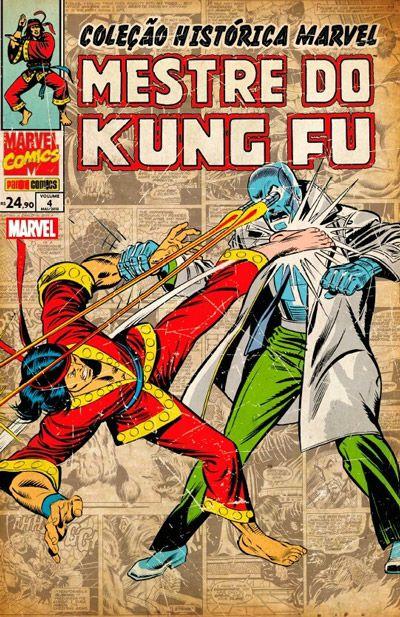 Coleção Histórica Marvel: Mestre do Kung Fu #4