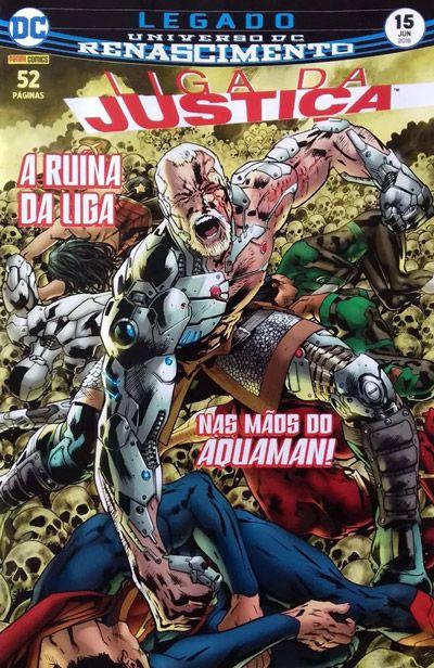 Liga da Justiça: Renascimento #15
