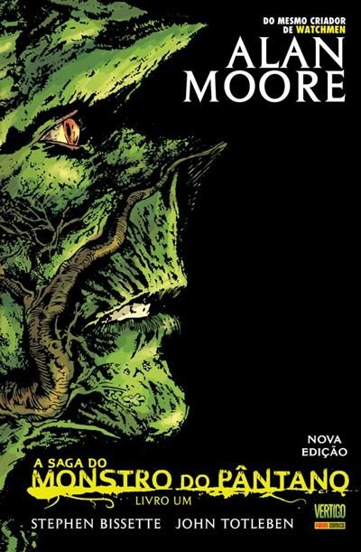 A Saga do Monstro do Pântano #1