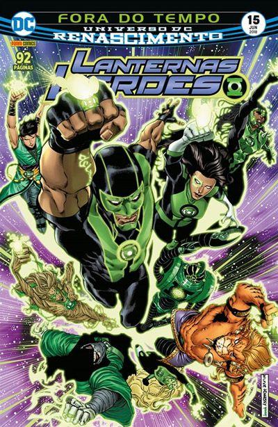 Lanternas Verdes: Renacimento #15