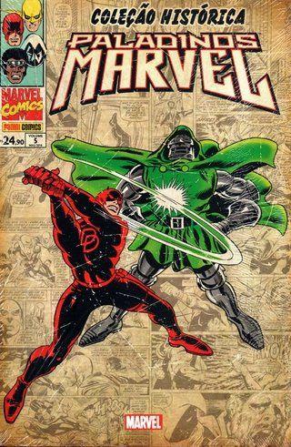 Coleção Histórica Paladinos Marvel #5