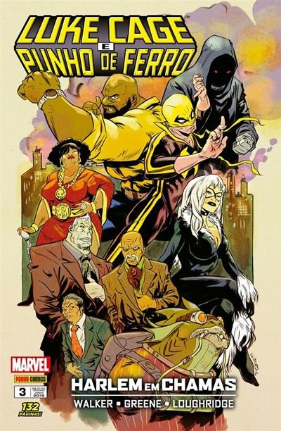Luke Cage e Punho de Ferro #3