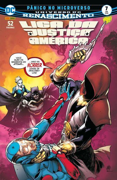 Liga da Justiça da América: Renascimento #7
