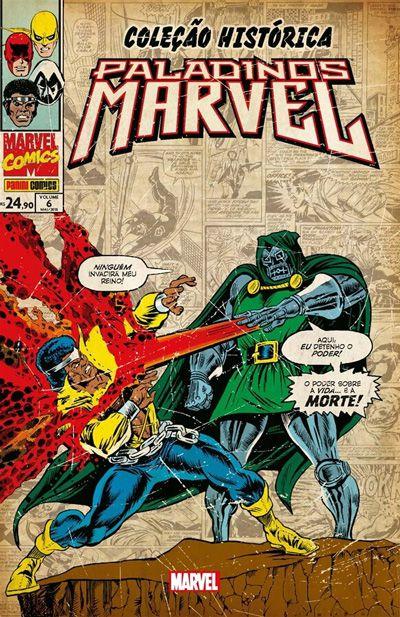 Coleção Histórica Marvel: Paladinos Marvel #6
