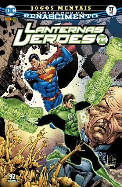 Lanternas Verdes: Renascimento #17