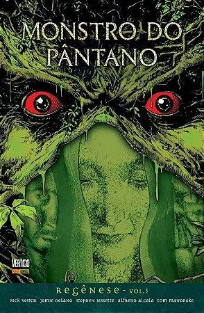 Monstro do Pântano: Regênese #3