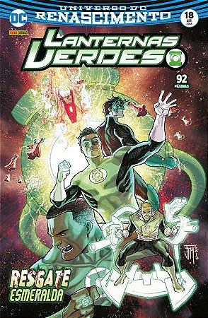 Lanternas Verdes: Renascimento #18