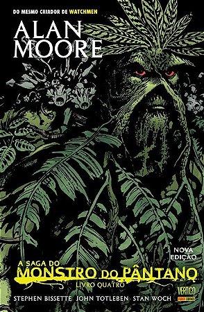 A Saga do Monstro do Pântano #4