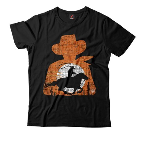 Camiseta Eloko Cowboy Silhueta