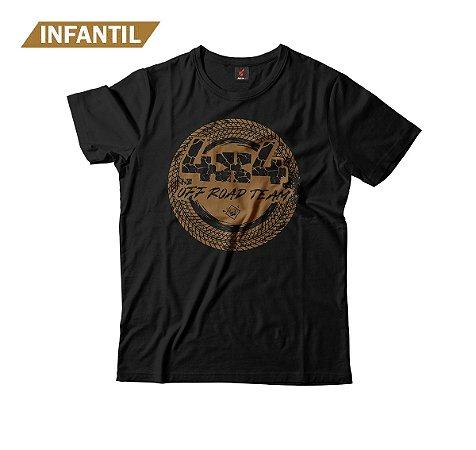 Camiseta Infantil Eloko 4x4 Off Road Team