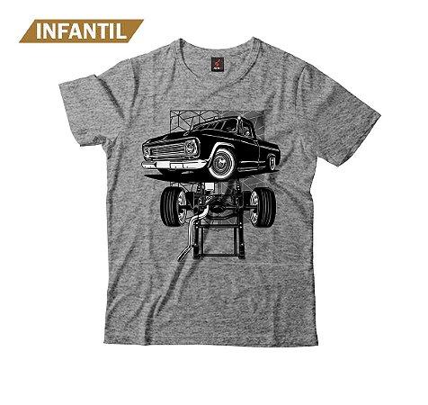 Camiseta Infantil Eloko C10 Chassi Preta