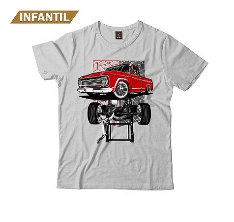 Camiseta Infantil Eloko C10 Chassi Vermelha