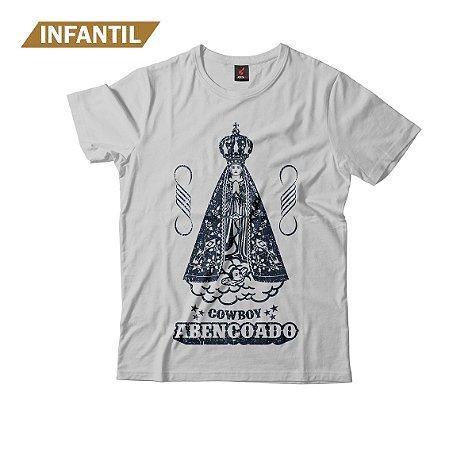 Camiseta Infantil Eloko Cowboy Abençoado