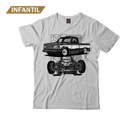 Camiseta Infantil Eloko D20 Chassi Preta