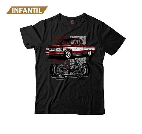 Camiseta Infantil Eloko D20 Chassi Vinho