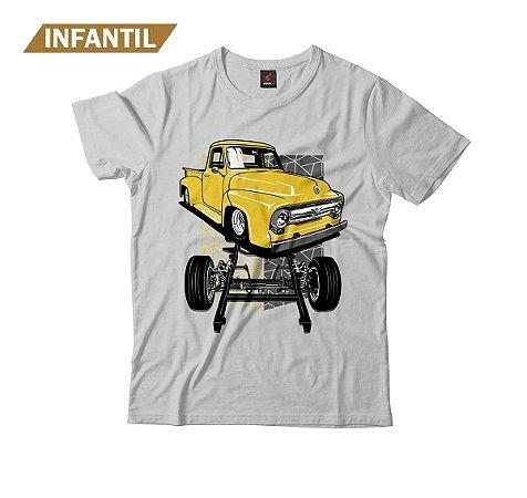Camiseta Infantil Eloko F100 Chassi Amarela