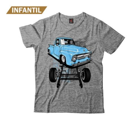 Camiseta Infantil Eloko F100 Chassi Azul