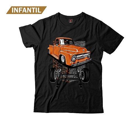 Camiseta Infantil Eloko F100 Chassi Laranja
