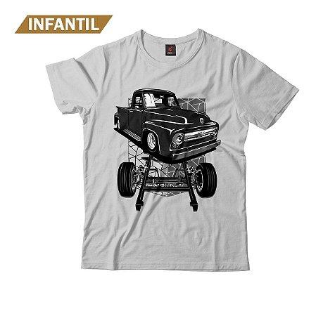 Camiseta Infantil Eloko F100 Chassi Preta