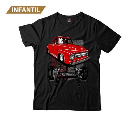 Camiseta Infantil Eloko F100 Chassi Vermelha