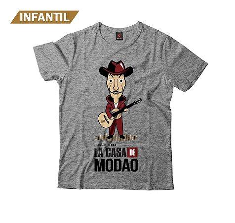 Camiseta Infantil Eloko La Casa de Modão