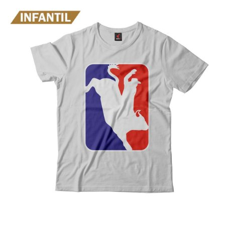 Camiseta Infantil Eloko Rodeio NBA