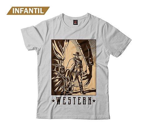 Camiseta Infantil Eloko Western