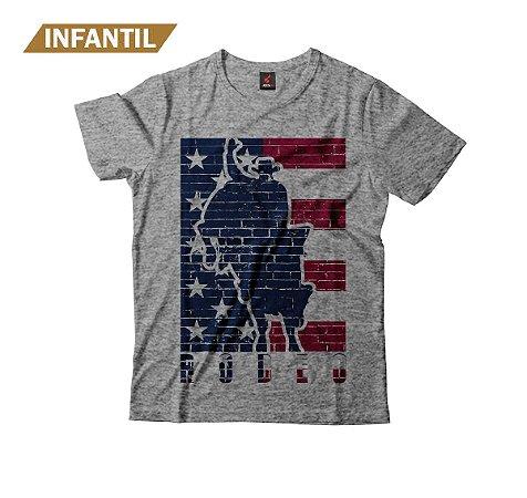 Camiseta Infantil Eloko American Rodeo
