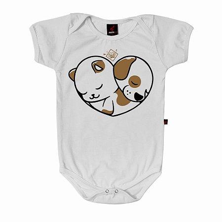 Body Baby Eloko Coração Pet