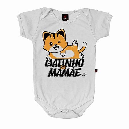 Body Baby Eloko Gatinho da Mamãe