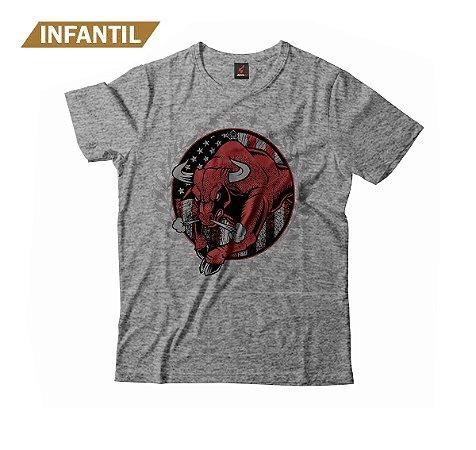 Camiseta Infantil Eloko Wild Bull