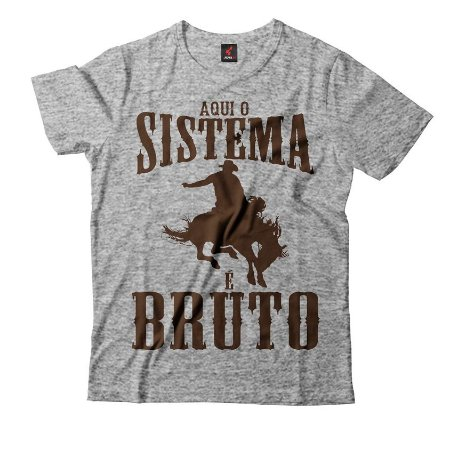 Camiseta Eloko Rodeio Sistema Bruto