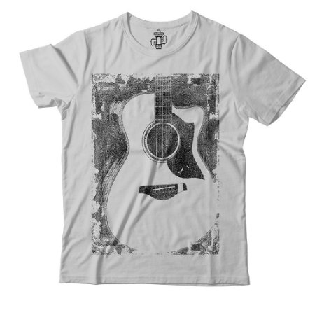 Camiseta Eloko Música Violão Vintage