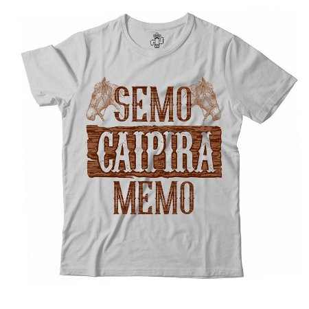 Camiseta Eloko Semo Caipira
