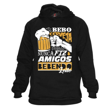 Moletom Eloko Eu Bebo Cerveja
