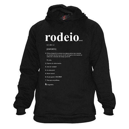 Moletom Eloko Rodeio Dicionário