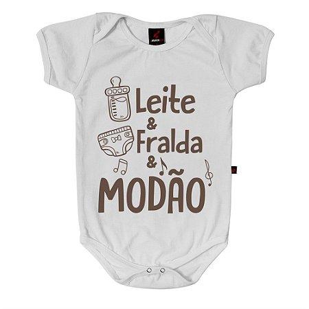 Body Baby Eloko Leite, Fralda e Modão