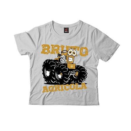 Camiseta Infantil Eloko Bruto Agrícola - Amarelo