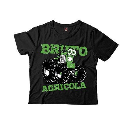 Camiseta Infantil Eloko Bruto Agrícola - Verde