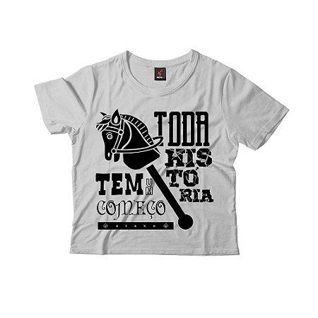 Camiseta Infantil Eloko Toda História